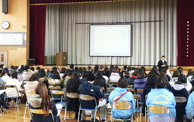 那珂川町の全小学校で「親講座」を開催しました