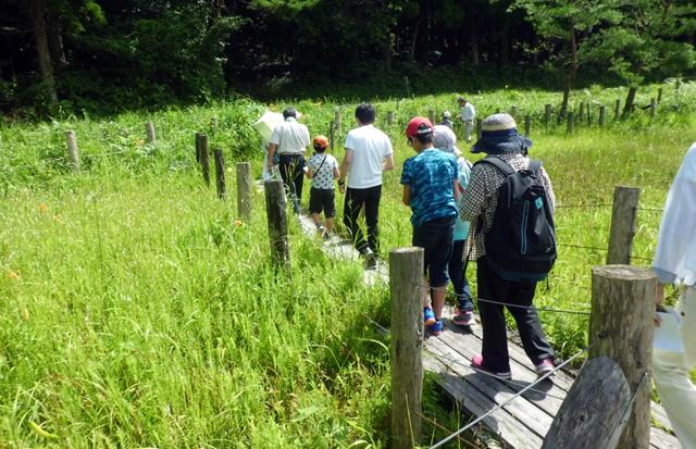 「樫原湿原植物観察会」及び「名護屋城跡歴史探訪」