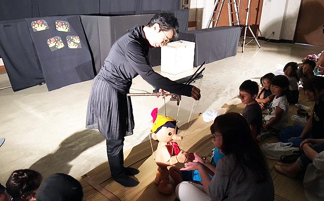 9月9日「人形ボードヴィル・ドラ」公演を開催しました